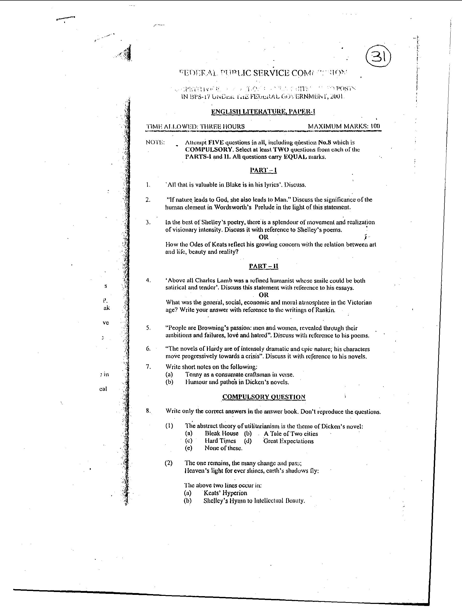 css english essay paper 2011 Css past papers all subjects css past papers of english essay 1970-2013 geography css past papers mcqs (solved) 2000-2013– free ebooks download.