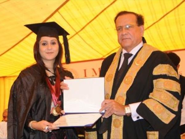 salman taseer at imperial college of business sciences
