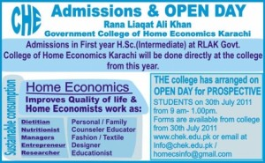 Rana Liaquat Ali Khan Government College of Home Economics