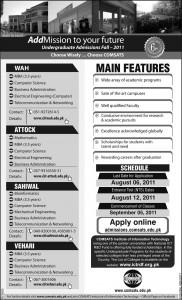 Undergraduate Programs & MBA Attock