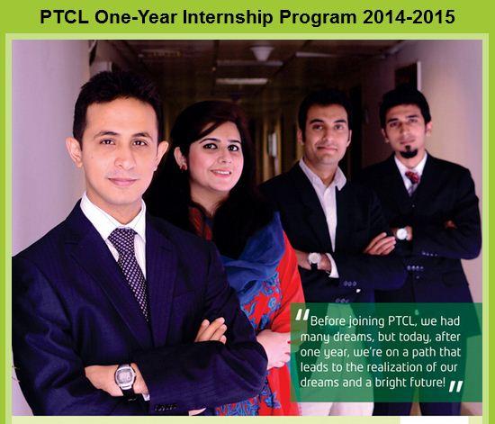 PTCL One Year Internship 2014-2015