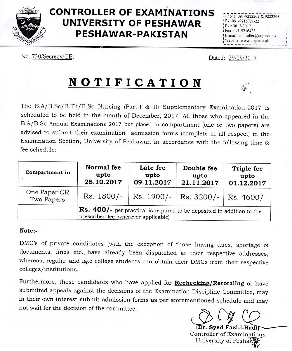 Bachelors Admission - Pakistani Education
