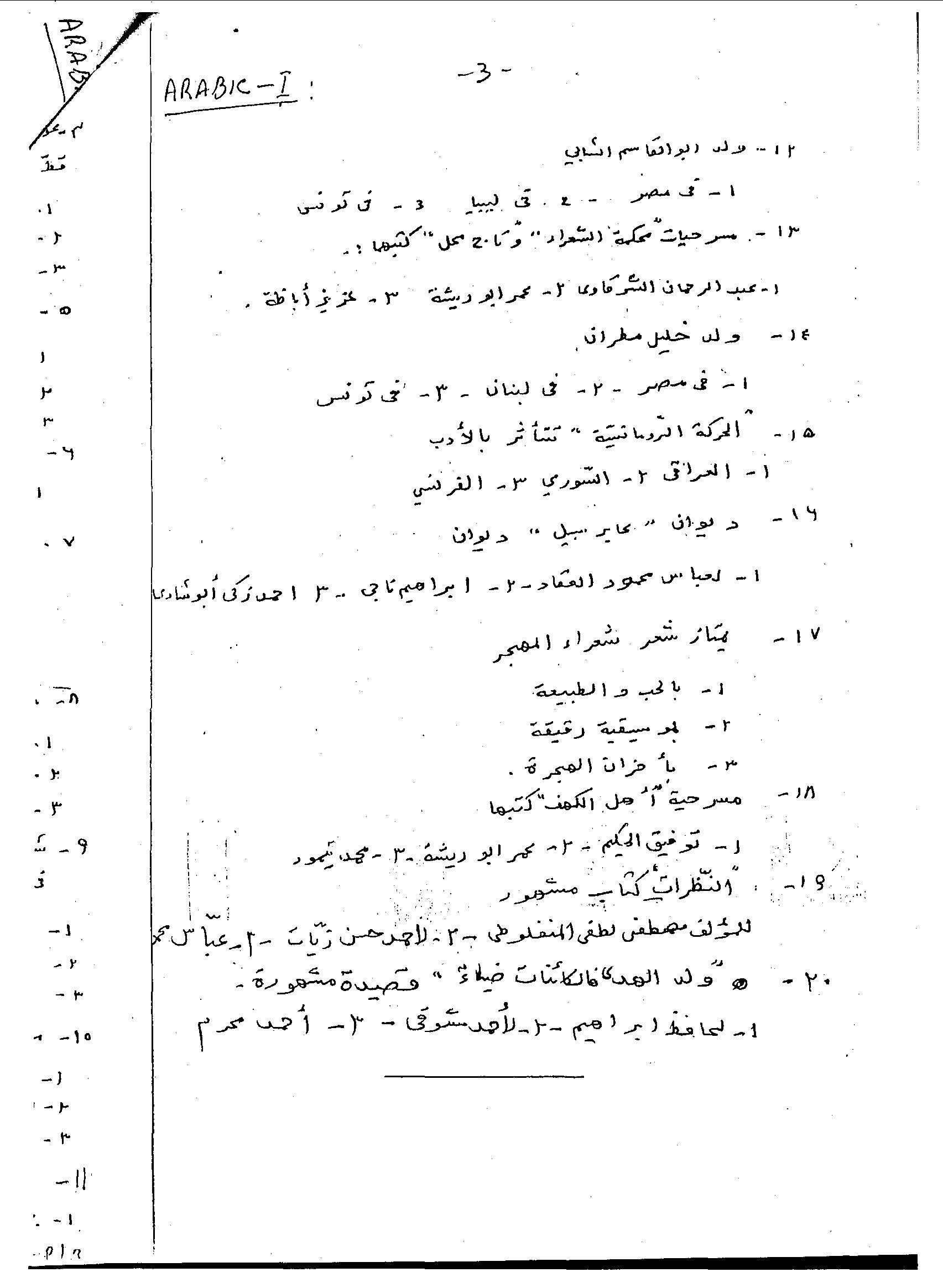 2011 Mathematics Paper 1
