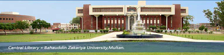 Baha Uddin Zakariya University Multan