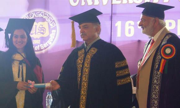 Sargodha University Convocation 2013