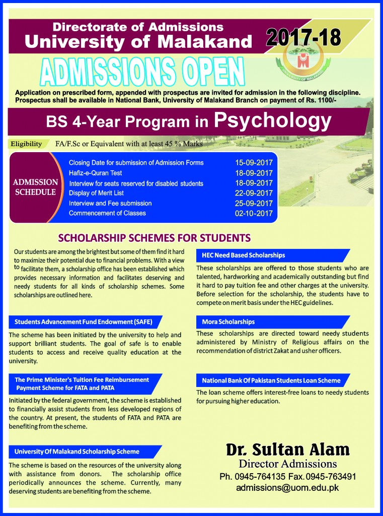 BS Psychology
